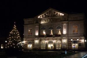Theater Baden-Baden in der Weihnachtszeit